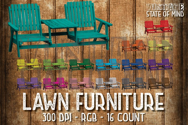 Lawn Furniture Sublimation Graphics example image 1