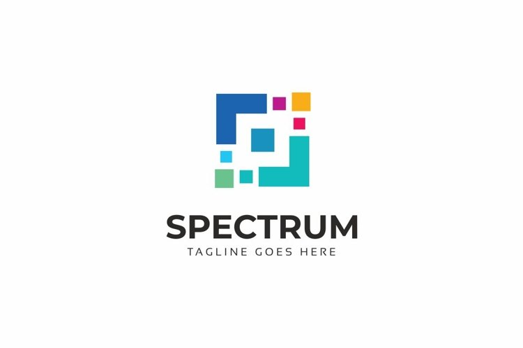 Spectrum Abstract Square Logo example image 1