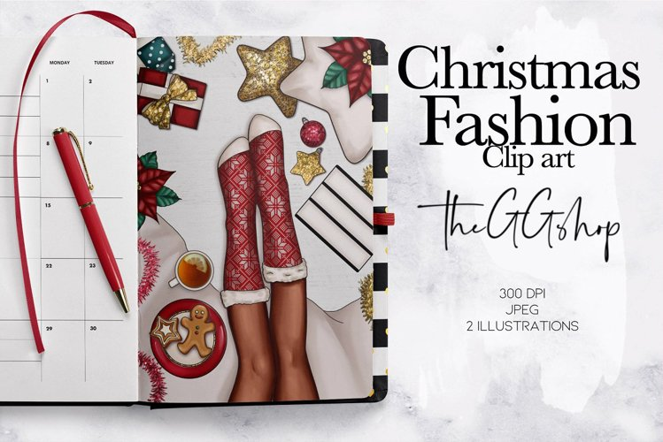 Christmas Pre made illustration example image 1