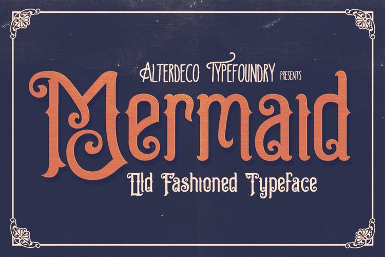 Mermaid Typeface example image 1