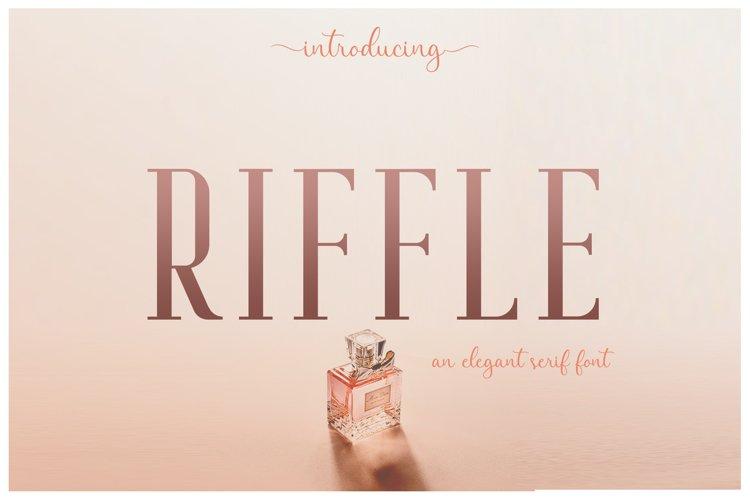 Riffle Font Family example image 1