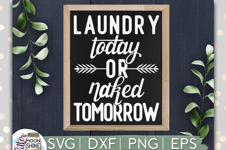 Laundry today or Naked tomorrow svg dxf eps png Digital   Etsy
