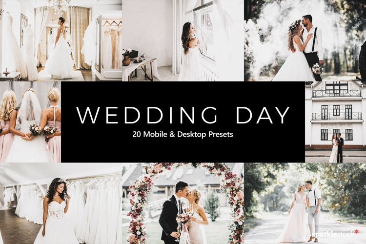 20 Wedding Day Lightroom Presets & LUTs example image 1