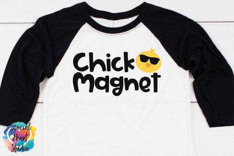 Chick Magnet- Easter SVG Boy Easter