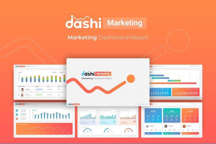 Dashi Marketing Dashboard Report Presentation