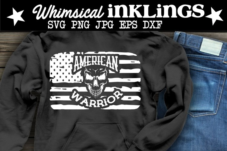 American Warrior SVG example image 1