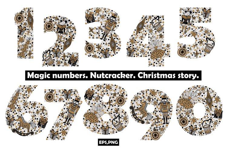 Numbers. Nutcracker. Christmas. example image 1
