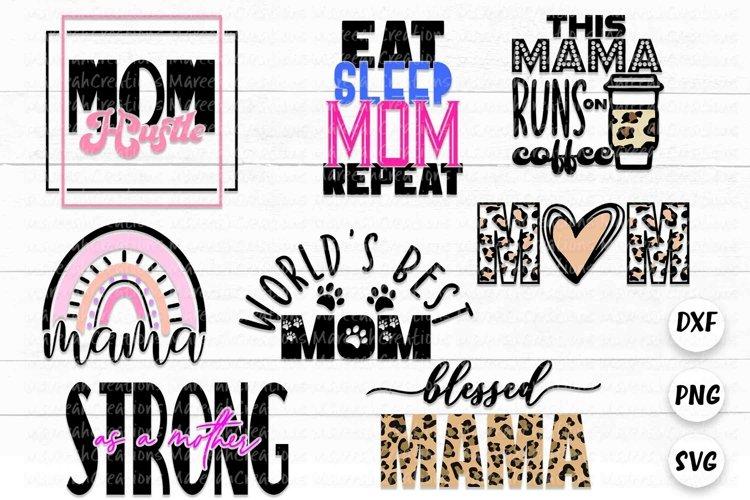 Mom Layered SVG Bundle | Mom Cut Files Bundle
