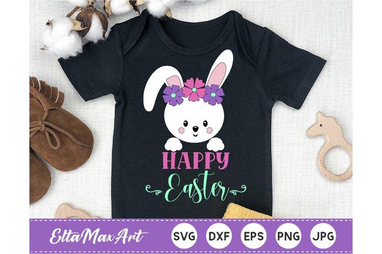 Happy Easter SVG, Easter Bunny SVG, Easter SVG, Bunny svg,