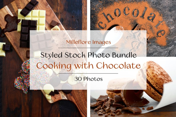 Cooking with Chocolate Food Blog Recipe Styled Photos Bundle