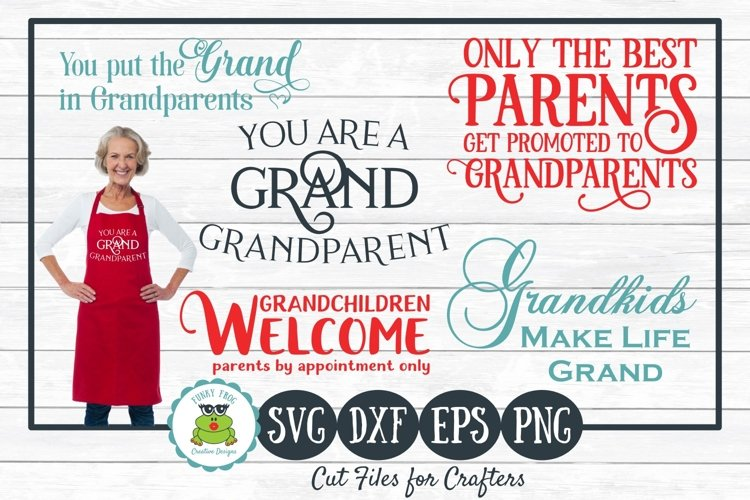 Grandparent Designs Bundle, SVG Cut Files for Crafters