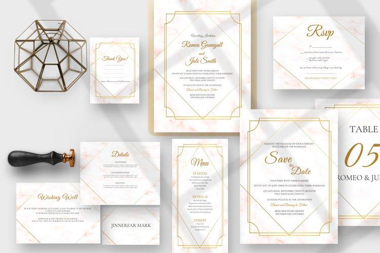 Golden Marble Wedding Suite