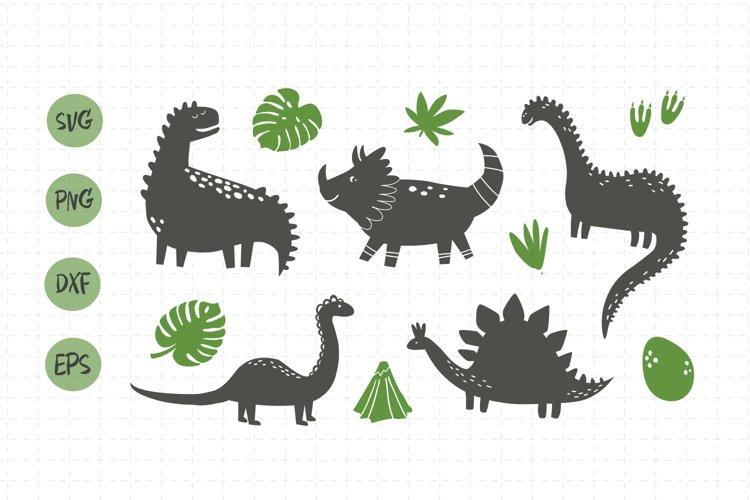 Dino svg/ Dino clip art example image 1
