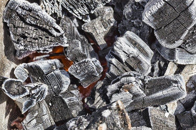 black white coals example image 1
