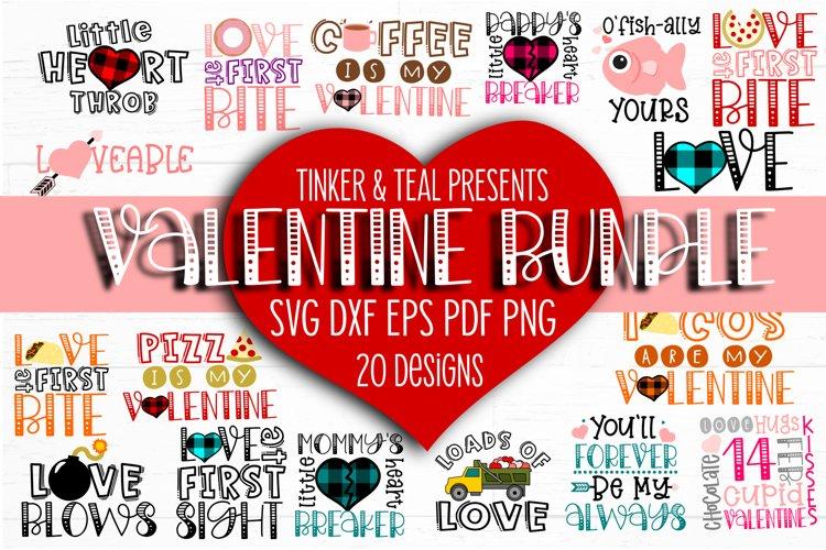 NEW Valentine SVG Bundle example image 1