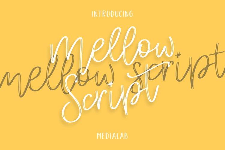 Mellow Script example image 1
