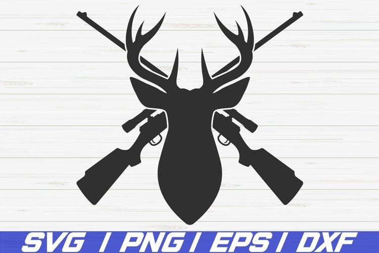 Deer Head SVG / Commercial use / Deer Hunting SVG / Cut File