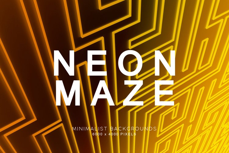 Neon Maze Backgrounds example image 1