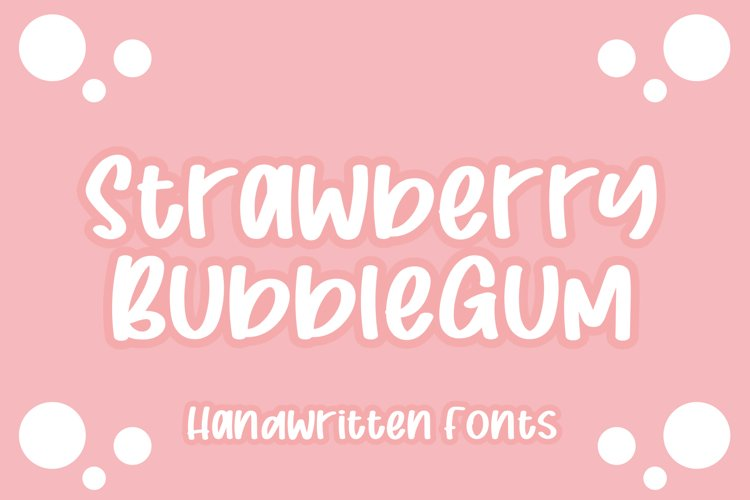 Strawberry Bubblegum example image 1