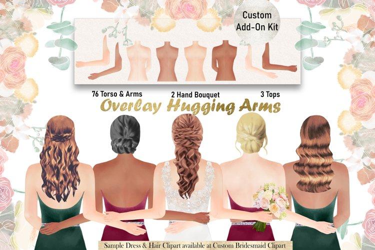ADD-ON Kit-Custom Bridesmaid Bride Bodies, Bridal Wedding example image 1