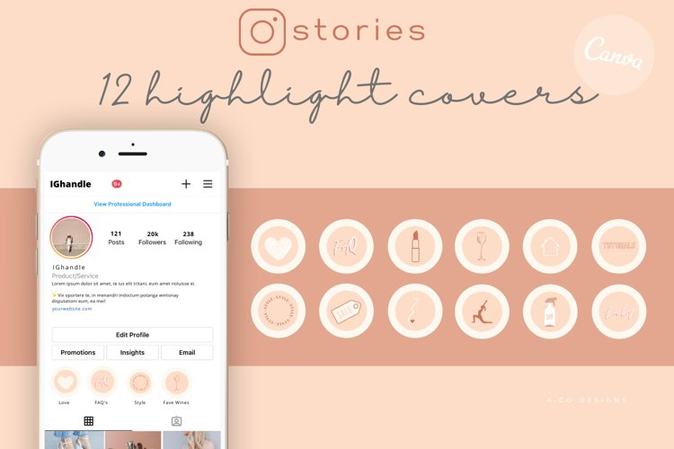 12 Instagram Story Highlight Covers