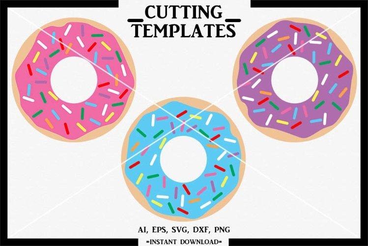 Donut SVG , Doughnut SVG, Silhouette, Cricut, Came, SVG