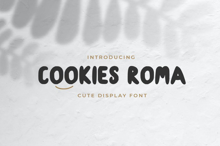 cookies roma - Display Font example image 1