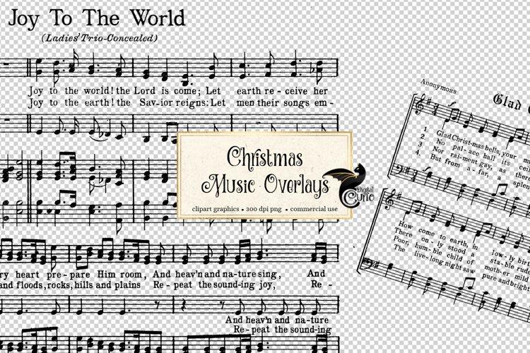 Christmas Music Overlays example image 1