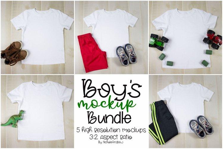 Boy's Mockup Bundle example image 1