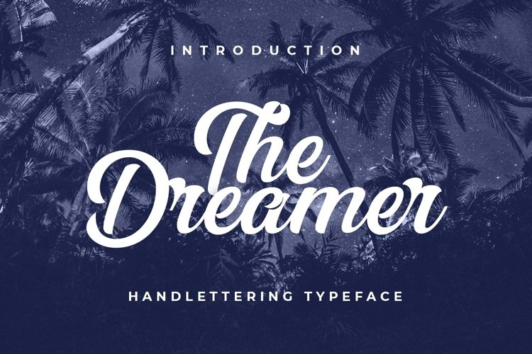 Web Font The Dreamer example image 1