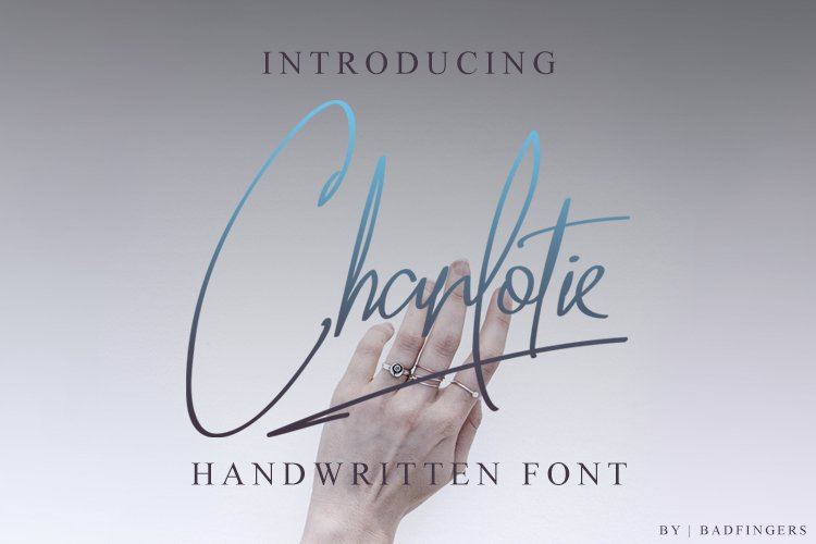 Charlotie Font example image 1