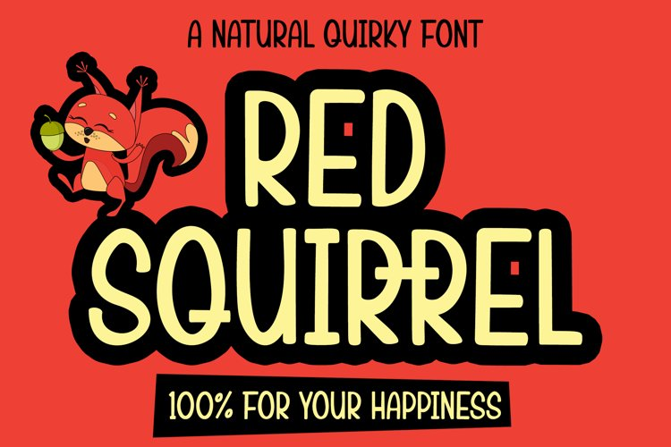 Red Squirrel example image 1