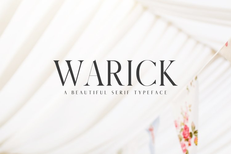 Warick Serif Font Family example image 1