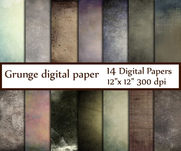 Grunge texture Paper example image 1