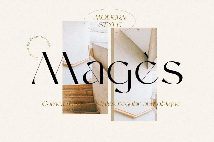 Magès - Modern Serif Typeface example image 1