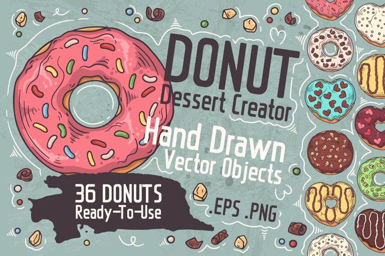 Donut Dessert Creator