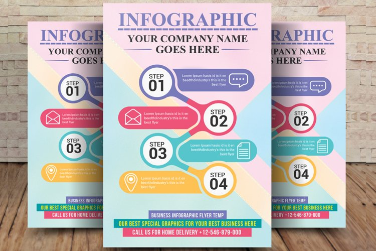 Multipurpose Infographic Flyer example image 1