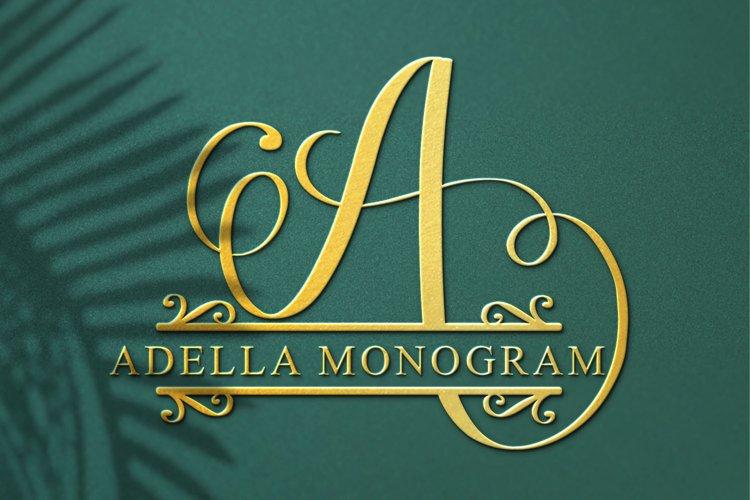 adella monogram example image 1