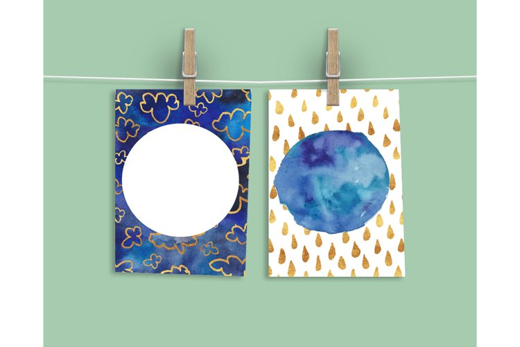 Watercolor Textures - card edition - Free Design of The Week Design4
