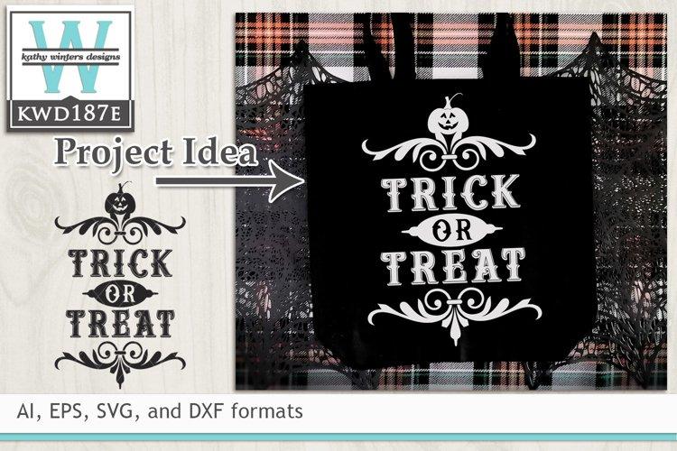 Halloween SVG - Trick Or Treat