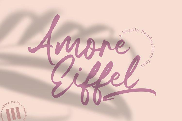 Amore Eiffel - A Beauty Handwritten Font example image 1
