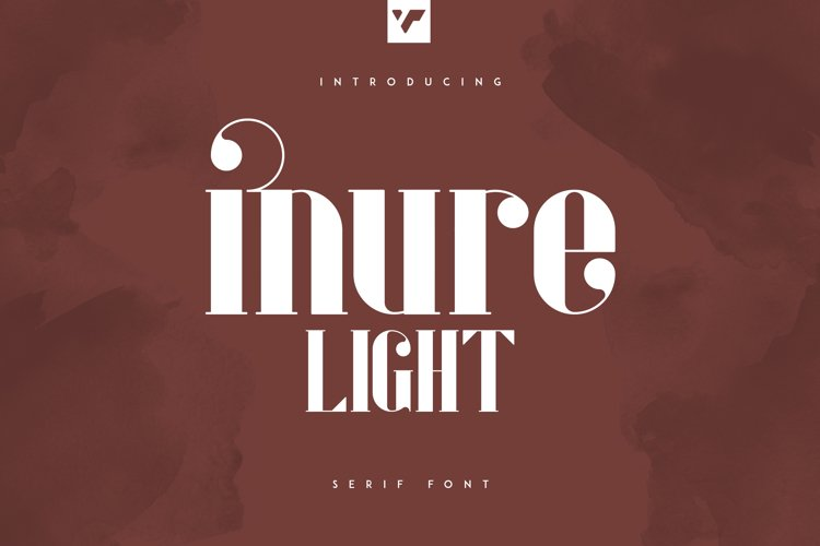Inure - Serif Light example image 1
