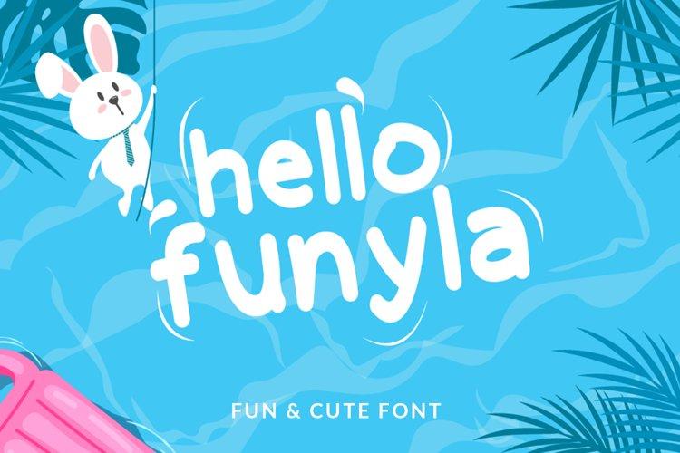 Hello Funyla example image 1