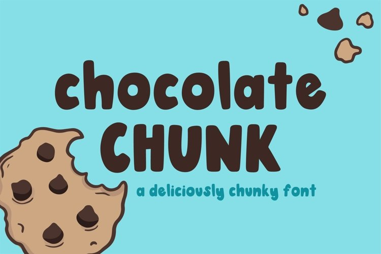 Chocolate Chunk Font example image 1