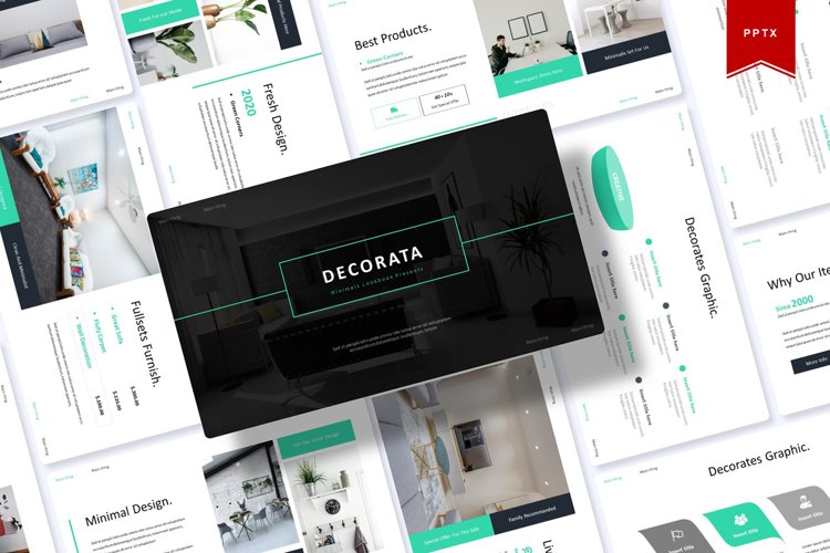 Decorata | Powerpoint Template example image 1