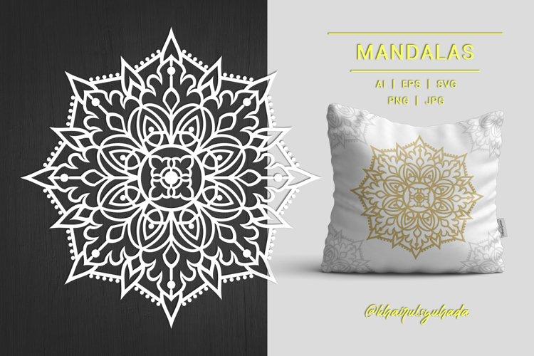 Mandalas Monochrome