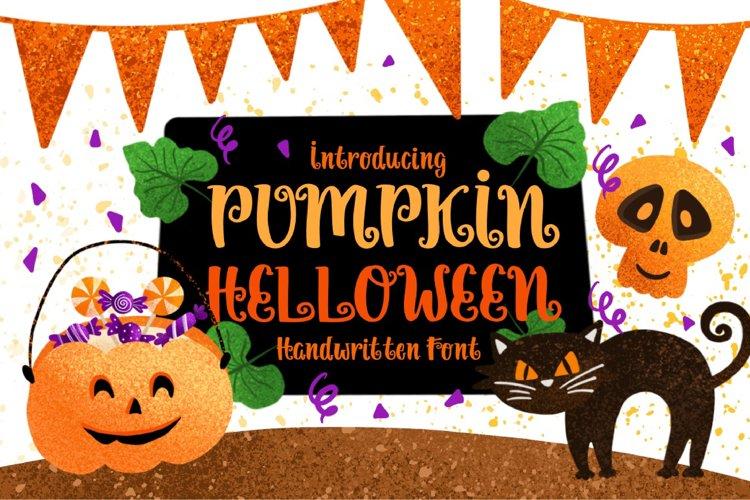 Pumpkin Halloween example image 1