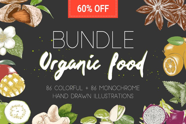 Organic food BUNDLE - 60 off example image 1