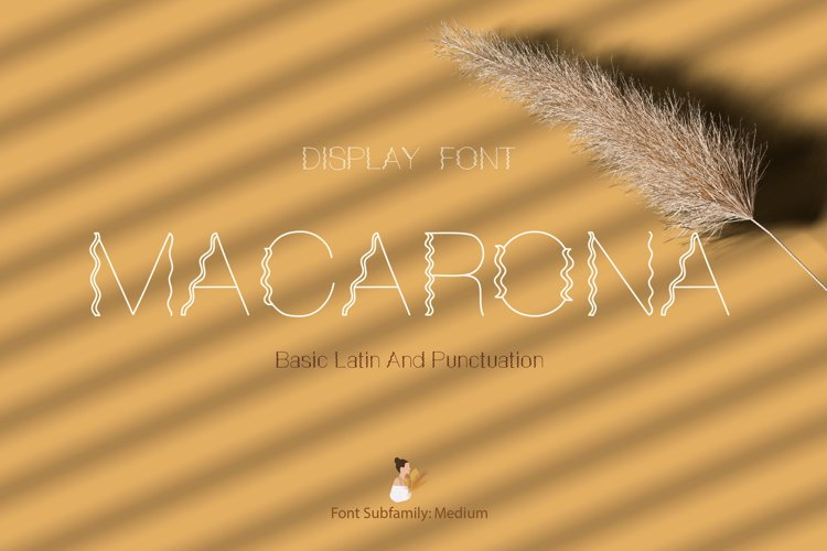Macarona Font example image 1