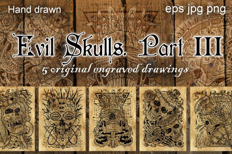 Evil skulls. Part 3